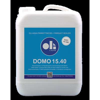 Однокомпонентный водный паркетный лак Oli-Aqua Domo 15.40