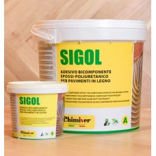 Sigol A+B – двухкомпонентный клей для паркета