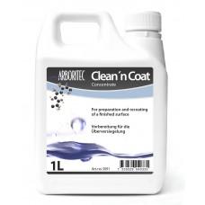 Клин коат (Clean 'n Coat) – специальный продукт для повторного нанесения паркетных лаков