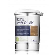 Цветное масло для тонировки паркета и деревянных полов  Bona Craft Oil  (1л)