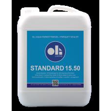 Однокомпонентный водный паркетный лак Oli-Aqua Standard 15.50
