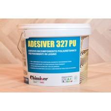 Клей двухкомпонентный, полиуретановый Chimiver Adesiver 327 PU (Адезивер 327 ПУ) на основе чистого полиуретана