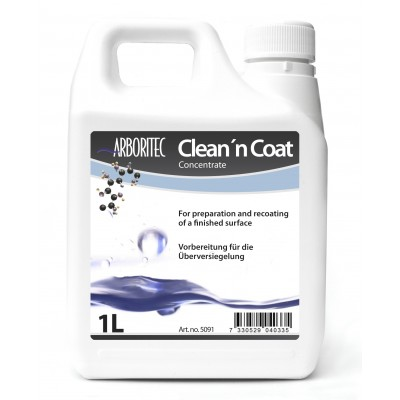 Arboritec Clean 'n Coat (Клин коат) специальный продукт для повторного нанесения паркетных лаков
