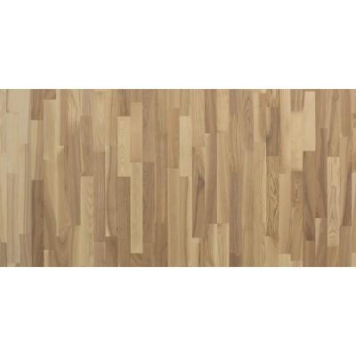 Паркетная доска Polarwood PLUTON WHITE OILED 3х-полосная (Ясень)