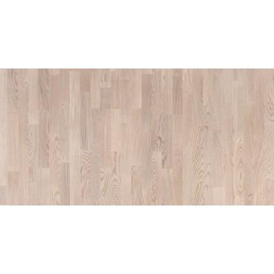 Паркетная доска Polarwood TUNDRA WHITE MATT 3х-полосная (Дуб)