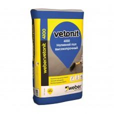 Наливной пол Weber.Vetonit 4100 универсальный финишный высокопрочный 20 кг