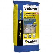Армированный наливной пол Weber.Vetonit Strong