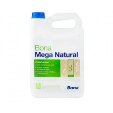 Однокомпонентный, воднодисперсионный паркетный лак Bona Mega Natural (Бона Мега Натурал, экстраматовый) (5л)