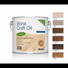 Bona Craft oil (Бона Крафт ойл) Цветное, однокомпонентное масло для паркета и деревянных полов (1л)