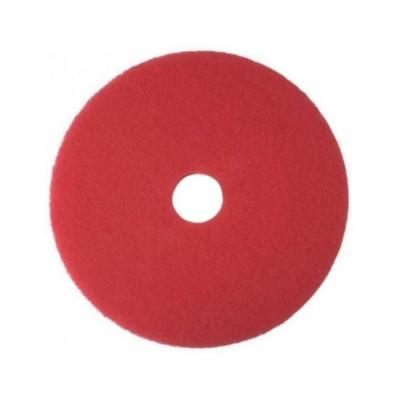 Шлифовальный пад из нетканого материала для обработки полов (Красный)