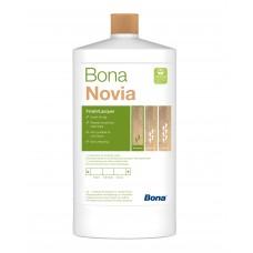 Однокомпонентный, воднодисперсионный паркетный лак Bona Novia (Бона Новия, полуматовый) (1л)