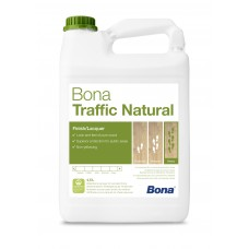 Двухкомпонентный, воднодисперсионный паркетный лак Bona Traffic Natural (Бона Траффик Натуральный, ультраматовый) (4,95л)