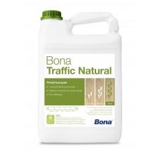 Двухкомпонентный, воднодисперсионный паркетный лак Bona Traffic Natural (Бона Траффик Натуральный, ультраматовый) (4,95л)