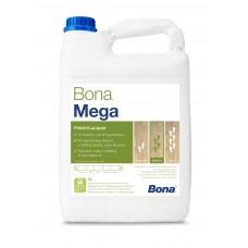 Однокомпонентный, воднодисперсионный паркетный лак Bona Mega (Бона Мега, матовый) (5л)