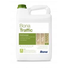 Двухкомпонентный, воднодисперсионный паркетный лак Bona Traffic  (Бона Траффик , матовый) (4,95л)