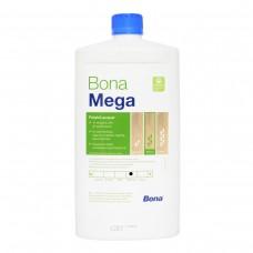 Однокомпонентный, воднодисперсионный паркетный лак Bona Mega (Бона Мега, матовый) (1л)