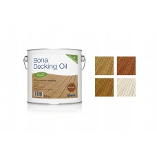 Цветное масло для террас Bona Decking oil, серое\махагон (2,5 л)